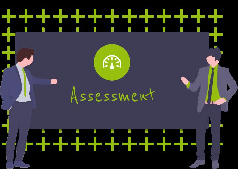 Assessments ermöglichen die gezielte Evaluation der Fähigkeiten und Potenziale einer Person hinsichtlich verschiedener Kompetenzen.
