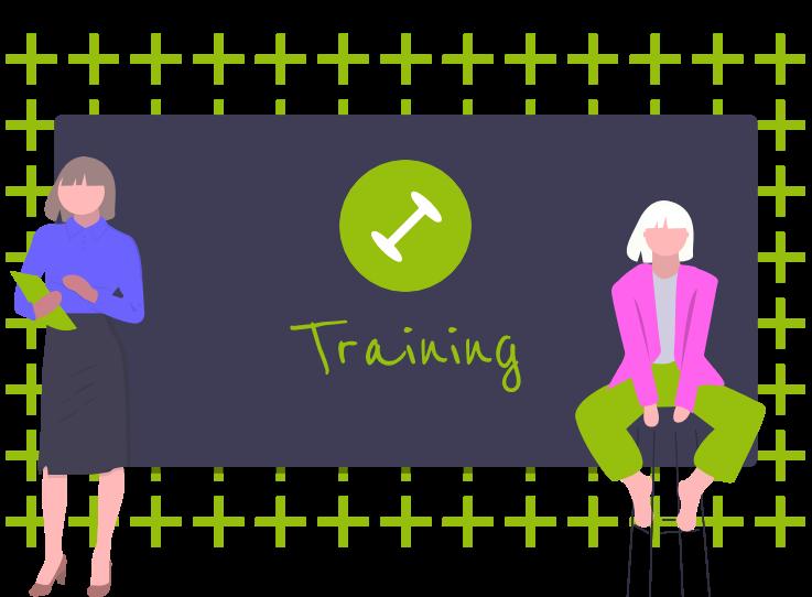 Unsere Trainings passen wir Ihren individuellen Wünschen an.
